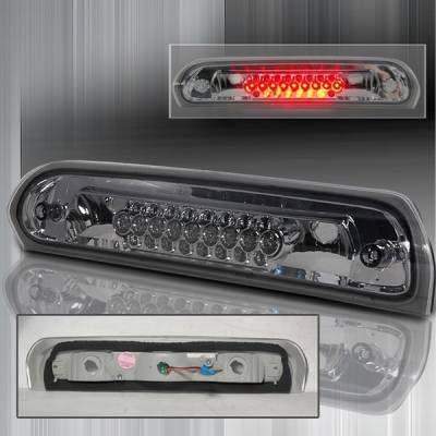 Custom Disco - Dodge Ram Custom Disco Smoke LED Third Brake Lights - LT-RAM02RBSLED