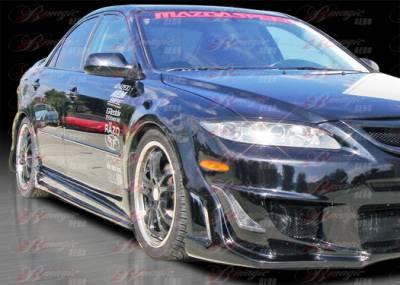 AIT Racing - Mazda 6 AIT Racing Vascious Style B-Magic Side Skirts - M602BMVASSS