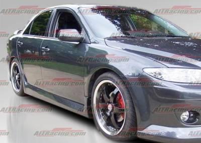 AIT Racing - Mazda 6 AIT Racing KS Style Side Skirts - M602HIMAXSS