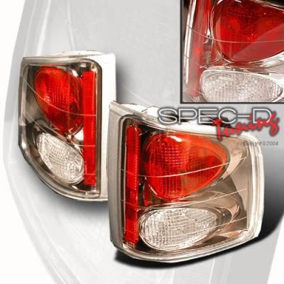 Custom Disco - Chevrolet S10 Custom Disco Gunmetal Taillights - LT-S1094G-YD