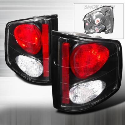 Custom Disco - Chevrolet S10 Custom Disco JDM Black Altezza Taillights - LT-S1094JM-YD