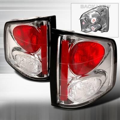Custom Disco - Chevrolet S10 Custom Disco Chrome Taillights - LT-S1094-YD