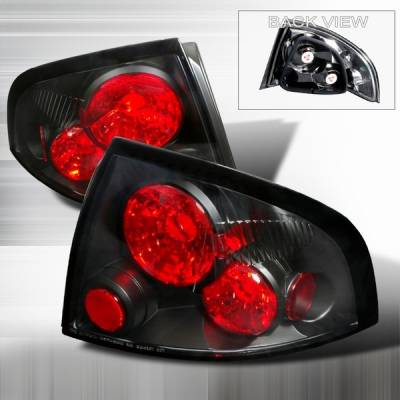 Custom Disco - Nissan Sentra Custom Disco Black Altezza Taillights - LT-SEN01JM-YD