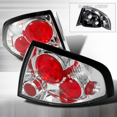 Custom Disco - Nissan Sentra Custom Disco Chrome Altezza Taillights - LT-SEN01-YD