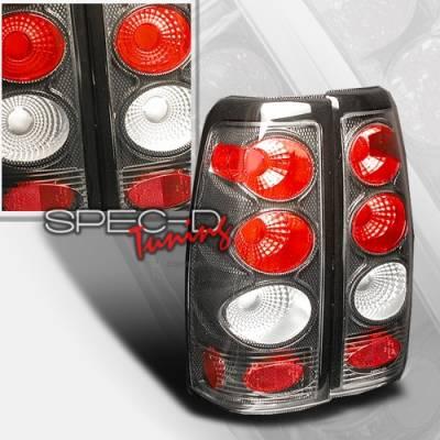 Custom Disco - Chevrolet Silverado Custom Disco Carbon Fiber Taillights - LT-SIV99CF-KS