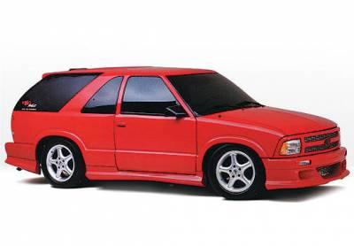 VIS Racing - Chevrolet Blazer VIS Racing Custom Style Right Side Skirt - 890040