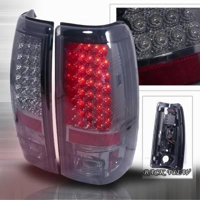 Custom Disco - Chevrolet Silverado Custom Disco Clear LED Taillights - LT-SIV99GLED-YD