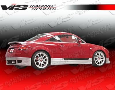 VIS Racing - Audi TT VIS Racing R Tech Side Skirts - 00AUTT2DRTH-004