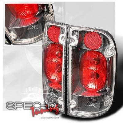 Custom Disco - Toyota Tacoma Custom Disco Carbon Fiber Altezza Taillights - LT-TAC00CF-YD