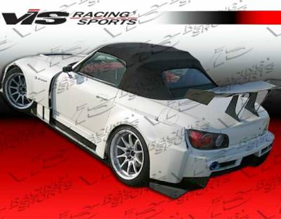 VIS Racing. - Honda S2000 VIS Racing AMS Widebody Side Skirts - 00HDS2K2DAMSWB-004