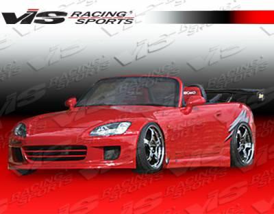 VIS Racing - Honda S2000 VIS Racing G Speed Side Skirts - 00HDS2K2DGSP-004