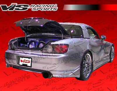 VIS Racing - Honda S2000 VIS Racing KD Side Skirts - Urethane - Pair - 00HDS2K2DKD-004P