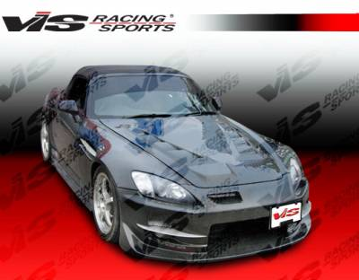 VIS Racing - Honda S2000 VIS Racing Techno R Side Skirts - 00HDS2K2DTNR-004