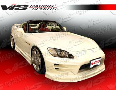 VIS Racing - Honda S2000 VIS Racing Torque Side Skirts - 00HDS2K2DTQ-004