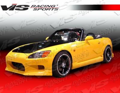 VIS Racing - Honda S2000 VIS Racing Viper Side Skirts - 00HDS2K2DVR-004
