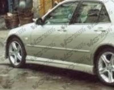 VIS Racing - Lexus IS VIS Racing SW Walker Side Skirts - 00LXIS3SWWAL-004