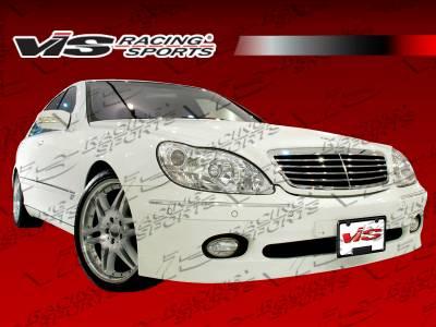 VIS Racing - Mercedes-Benz S Class VIS Racing B Spec Side Skirts - 00MEW2204DBSC-004
