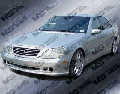 VIS Racing - Mercedes-Benz S Class VIS Racing Laser Side Skirts - 00MEW2204DLS-004