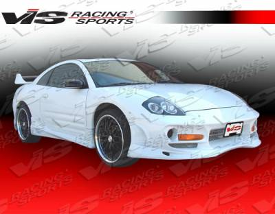 VIS Racing - Mitsubishi Eclipse VIS Racing Ballistix Side Skirts - 00MTECL2DBX-004