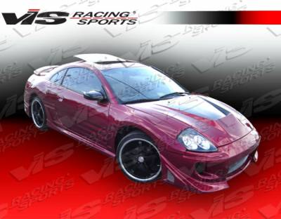 VIS Racing - Mitsubishi Eclipse VIS Racing Battle Z Side Skirts - 00MTECL2DBZ-004