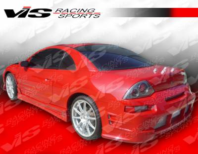 VIS Racing - Mitsubishi Eclipse VIS Racing Torque Side Skirts - 00MTECL2DTQ-004