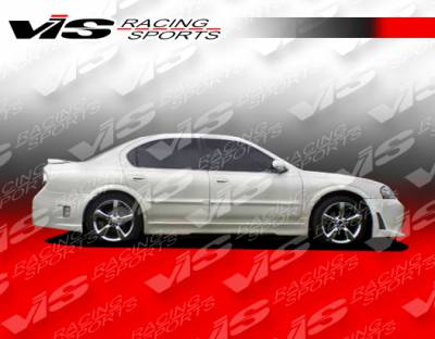 VIS Racing - Nissan Maxima VIS Racing EVO-5 Side Skirts - 00NSMAX4DEVO5-004