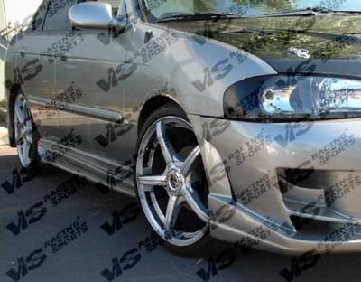 VIS Racing - Nissan Sentra VIS Racing Ballistix Side Skirts - 00NSSEN4DBX-004