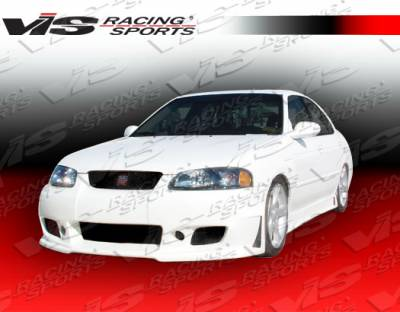 VIS Racing - Nissan Sentra VIS Racing TSC-3 Side Skirts - 00NSSEN4DTSC3-004