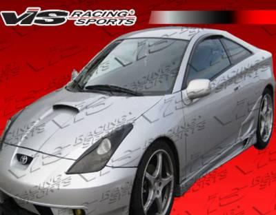 VIS Racing - Toyota Celica VIS Racing Xtreme Side Skirts - 00TYCEL2DEX-004