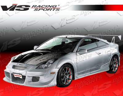VIS Racing - Toyota Celica VIS Racing Zyclone Side Skirts - 00TYCEL2DZYC-004
