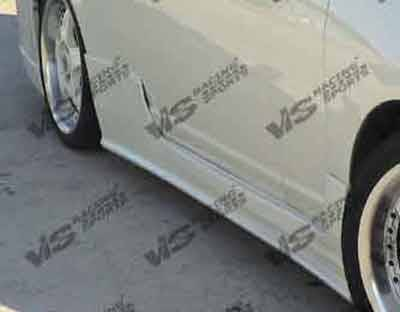 VIS Racing. - Honda Civic 2DR VIS Racing TSC-2 Side Skirts - 01HDCVC2DTSC2-004