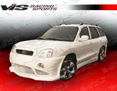 VIS Racing - Hyundai Santa Fe VIS Racing Outcast Side Skirts - 01HYSAN4DOC-004