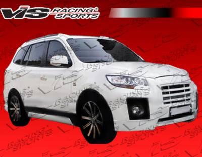 VIS Racing - Hyundai Santa Fe VIS Racing Top Mate Side Skirts - 01HYSAN4DTOP-004