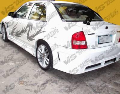 VIS Racing. - Mazda Protege VIS Racing GT Widebody Side Skirts - 01MZ3234DGTWB-004