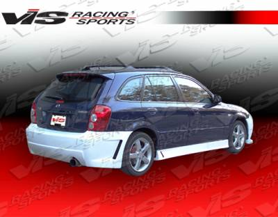 VIS Racing - Mazda Protege VIS Racing TSC 3 Side Skirts - 01MZ3235DTSC3-004