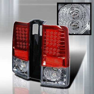 Custom Disco - Scion xB Custom Disco Red LED Taillights - LT-XB04RLED