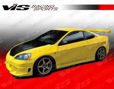 VIS Racing. - Acura RSX VIS Racing JS Side Skirts - 02ACRSX2DJS-004