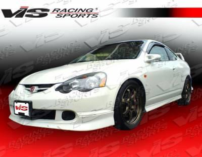 VIS Racing - Acura RSX VIS Racing Type R Side Skirts - 02ACRSX2DTYR-004
