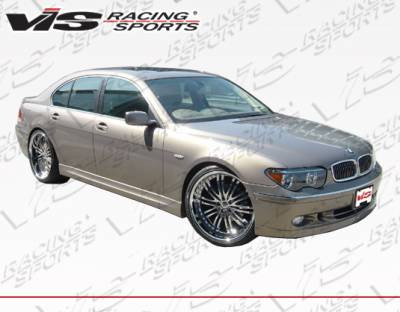 VIS Racing - BMW 7 Series VIS Racing ACT Side Skirts - 02BME654DACT-004