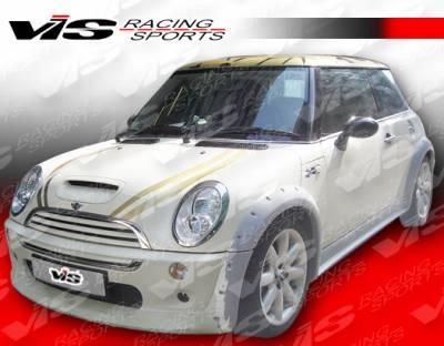 VIS Racing - Mini Cooper VIS Racing M-Speed Side Skirt - 02BMMC2DMSP-004