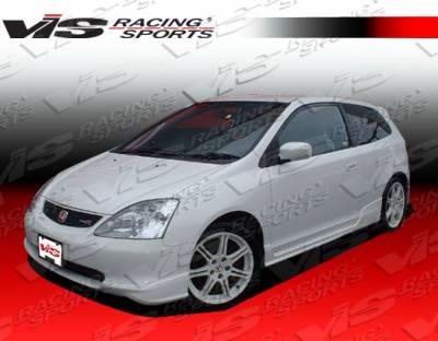 VIS Racing - Honda Civic HB VIS Racing Type R Side Skirts - 02HDCVCHBTYR-004