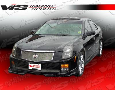 VIS Racing - Cadillac CTS VIS Racing VIP Side Skirts - 03CACTS4DVIP-004