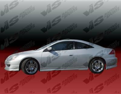 VIS Racing - Honda Accord 2DR VIS Racing EVO-4 Side Skirts - 03HDACC2DEVO4-004