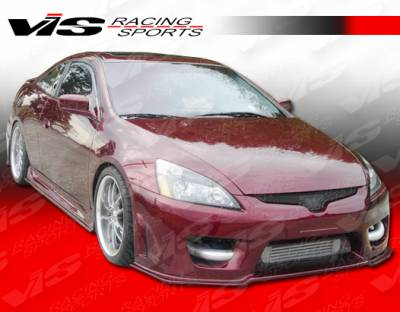VIS Racing - Honda Accord 2DR VIS Racing Prodigy Side Skirts - 03HDACC2DPRO-004