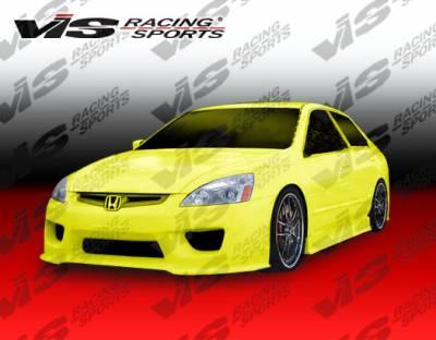 VIS Racing - Honda Accord 4DR VIS Racing Prodigy Side Skirts - 03HDACC4DPRO-004