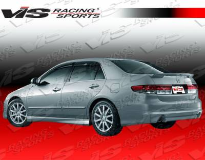 VIS Racing - Honda Accord 4DR VIS Racing Techno R-2 Side Skirts - 03HDACC4DTNR2-004