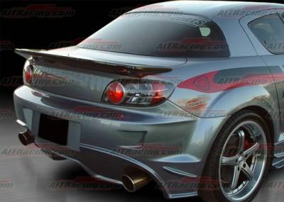 AIT Racing - Mazda RX-8 AIT Racing Wangon Style Rear Spoiler - M803HIWGNRW