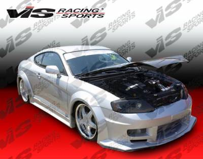 VIS Racing - Hyundai Tiburon VIS Racing GT Widebody Side Skirts - 03HYTIB2DGTWB-004
