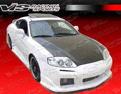 VIS Racing - Hyundai Tiburon VIS Racing Laser Side Skirts - 03HYTIB2DLS-004
