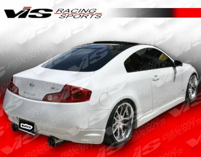 VIS Racing - Infiniti G35 2DR VIS Racing Techno R Side Skirts - 03ING352DTNR-004